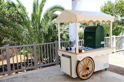 wedding planner malta - ice-cream cart