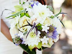 Malta Wedding Inspirations - White and Green Wedding Bouquet