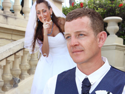 Jodie and Mike - Couple Photos during thier wedding in Malta