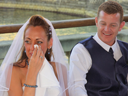 Jodie and Mike - Emotions during the wedding toast