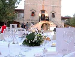 Wedding Dinner at Castello Nobile