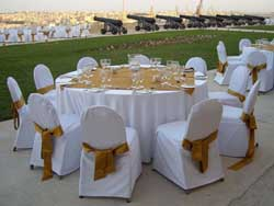 Wedding Setup at Giardino Valletta