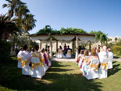 Civil Wedding Ceremony at the Serenity Garden
